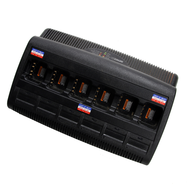 SIX WAY CHARGER FOR MOTOROLA DP3000 series