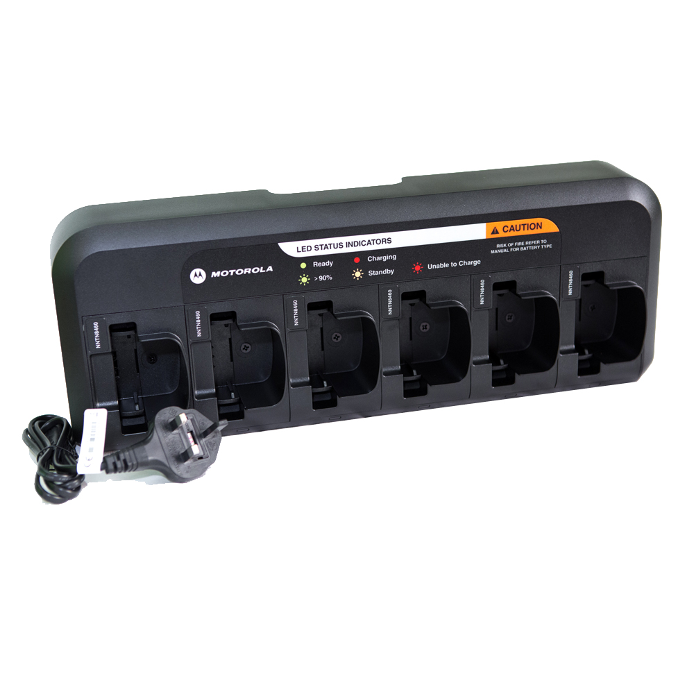Six Way Charger for Motorola CP040 & DP1400